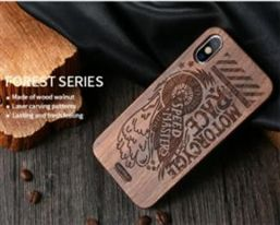 Wood Cell Phone Case 100% Eco-friendly