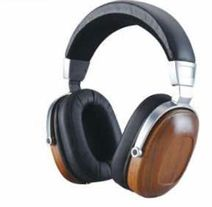 Wooden Headphone Moving Coil B8
